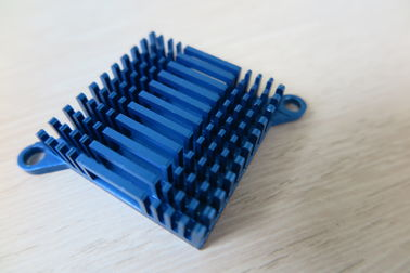 Blue Air Cooling Aluminum Heat Sink Extrusion Casting And Forging Heat Sink